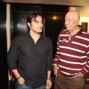 Arbaaz Khan and Prem Chopra at Premiere of 'Challo Driver'