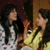 Kritika Kamra and Ishiita Sharma at the celebration of 200 Episode of Kuch Toh Log Kahenge