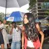 Actress-model Sarah Jane Dias was spotted while promoting her upcoming adult comedy film Kyaa Super Kool Hain Hum on the streets of Mumbai. .