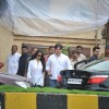 Arbaaz Khan and Malaika Arora Khan Paying tribute to superstar Rajesh Khanna at Aashirwad Banglow