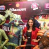 Sonakshi Sinha teaches dance to Aliens of film Joker