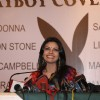 Sherlyn Chopra poses for Playboy Cover Girl press conference