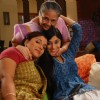 Soumya Seth with cast on Navya