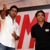 Abhishek Bachchan and Uday Chopra during the launch of Yomics