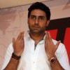 Abhishek Bachchan during the launch of Yomics
