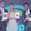 Bollywood actress Malaika Arora Khan Launches India's first 3D Tablet PC of  Swipe Telecom's called 3D LIFE held at Taj Mahal Hotel, Mumbai. (Photo:  IANS).