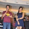 Bollywood actor Tusshar Kapoor and bollywood actress Neha Sharma at Lawman PG3 fashion show in Mumbai for promotion of the film 'Kya Super Kool Hain Hum'. .