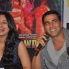 Bollywood actors Akshay Kumar and Sonakshi Sinha at  the Rowdy Rathore Dvd launch in Mumbai. .
