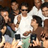 Bollywood actor Irfan Khan with fans at the 12th Osian Film Festival in New Delhi on Sunday .