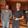 Bollywood Directors Sudhir Mishra & Anurag Kashyap at Press Conference of Large Short Film in JW Marriott, Mumbai .