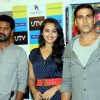 Prabhu Deva, Sonakshi Sinha and Akshay Kumar at DVD launch of 'Rowdy Rathore'