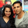 Akshay Kumar and Sonakshi Sinha at DVD launch of 'Rowdy Rathore'
