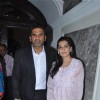 Bollywood actor Sunil Shetty with wife Mana Shetty attend a Press Conference on Hepatitis B in Mumbai