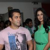 Salman and Katrina on the sets of DID L'il Masters