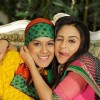 Nia Sharma as Manvi and Krystle as Jeevikaa