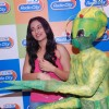 Bollywood actress Sonakshi Sinha promotes Joker at Radio City in Mumbai .