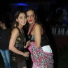 Sara Khan with Laxmi Narayan Tripathi at Sara Khan's Birthday Bash