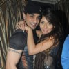 Angad Hasija with Sara Khan at Sara Khan's Birthday Bash