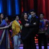 Madhuri Dixit, Farah Khan and Karan Johar on the sets of Jhalak Dikhhla Jaa