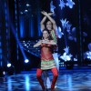 Shibani Dandekar with Punit performing on the sets of Jhalak Dikhhla Jaa