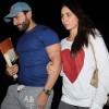 Saif Ali Khan and Kareena Kapoor snapped at the airport in Mumbai