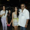Sridevi with husband Boney Kapoor and daughters Jhanvi & Khushi at First Look Film English Vinghlish