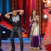 Karan Johar, Salman Khan, Madhuri Dixit and Katrina Kaif on the sets of Jhalak Dikhhla Jaa