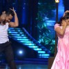 Rashmi Desai and Deepak performing on 'Hum Aapke hain kaun' on the sets of Jhalak Dikhhla Jaa