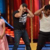 Salman Khan dances with Rashmi Desai and Deepak on the sets of Jhalak Dikhhla Jaa