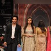 Bollywood Celebs on ramp at the Beti show by Vikram Phadnis at IIJW 2012