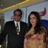 Dharmendra and Hema Malini on the sets of Indian Idol