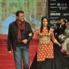 Lata Sabrawal Seth with husband Sanjeev Seth for Gitanjali Jewellers at IIJW in Mumbai