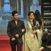 Ravi Dubey and Rubina Dilaik walk on the ramp for Gitanjali Jewellers at IIJW in Mumbai