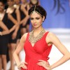 Simran Kaur Mundi walking the ramp for Jaipur Jewellery Show on Day 2 at IIJW 2012