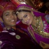 Gia Manek with Nishant in a Rajasthani Outfit