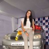 Bollywood actress Neha Dhupia promotes Ambi Pur air freshener for cars in Mumbai