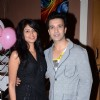 Kavita Kaushik and Aamir Ali at SAB TV�s F.I.R. celebrates completion of 7 years