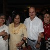 Sulbha Arya, Rohini Hattangadi, Anupam Kher and Ila Arun at Prayer Meet of AK Hangal