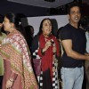 Anoop Soni and Ila Arun attended the prayer meet for Shri.AK Hangal
