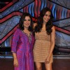 Bipasha Basu and Farah Khan on the sets of DID Little Masters