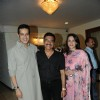Khalid with his wife & Bharat Godambe at Dorris Godambe sets up a surprise party for Bharat Godambe