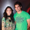 Priya Borde and Chinmay Mandelkar at music launch of The Strugglers