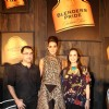 Pankaj and Nidhi with Neha Dhupia at Blenders Pride Fashion Tour 2012