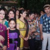 Ranbir Kapoor with ladies of Gukuldham Society on location of Taarak Mehta Ka Ooltah Chashmah