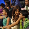 Bollywood actress Priyanka Chopra on the sets of Zee Dance Super kids at Famous, Mumbai. .