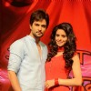 Tv actor Raqesh Vashisht and Aamna Sharif on the set's of Hongey Judaa Na Hum. .