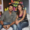 Shreyas Talpade and Madhurima Banerjee at Promotion of Film Kamaal Dhamaal Malamaal at R City Mall