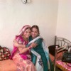 Rishika with her mom