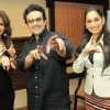 Bina Aziz, Adnan Sami and Lucky Morani at Le Club Musique