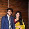 Ankita Lokhande with Hiten Tejwani at Pavitra Rishta press meet